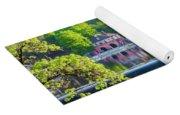 Boathouse Row - Framed In Spring Yoga Mat