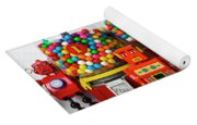 Bots And Bubblegum Machines Yoga Mat