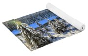 Bow Valley Mountains Yoga Mat