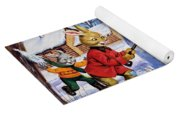 Brer Rabbit From Once Upon A Time Yoga Mat