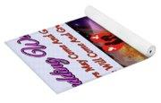 Brian Exton Night Flowers  Bigstock 164301632  231488 Yoga Mat