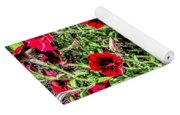 Bright Red Yoga Mat