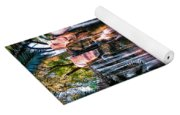 Bright Waterfalls Yoga Mat