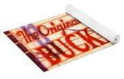 Bucket Of Blood Saloon Yoga Mat