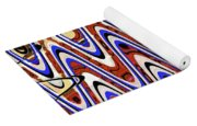 Building With Reflections Abstract Yoga Mat