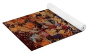 Bunch Of Dried Flowers  Yoga Mat