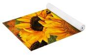 Bunch Of Sunflowers Yoga Mat