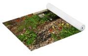 Butterfly Garden Yoga Mat