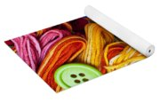 Buttons And Thread Yoga Mat