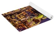 Calico Ghost Town Train Yoga Mat