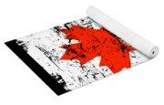 Canada Flag Gift Country Patriotic Travel Shirt Americas Light Yoga Mat