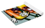 Candy Corn Gang Yoga Mat