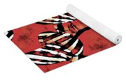 Candy Stripe Tulips 2 Yoga Mat