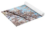 Canopy Of Cherry Blossoms Yoga Mat