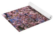 Canvas Of Pink Blossoms Yoga Mat