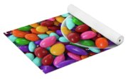 Candy Covered Sunflower Seeds Yoga Mat
