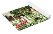 Cape Roses Yoga Mat