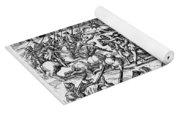 Capture Of Atahualpa, 1532 Yoga Mat