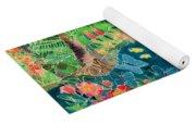 Caribbean Jungle Yoga Mat