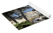 Carmel Seaside With Cypresses Yoga Mat