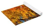 Carpet Of Leaves Yoga Mat
