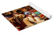 Carrousel Horse Ride Yoga Mat