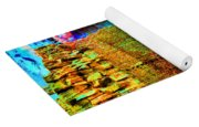 Chaco Culture Abstract Yoga Mat
