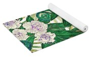 Chameleons And Camellias  Yoga Mat