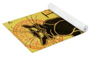 Chat Noir Yoga Mat