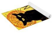 Chat Noir Vintage Yoga Mat