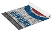 Chicago Cubs Brick Wall Yoga Mat