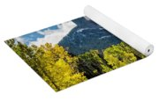 Chimney Rock Autumn Yoga Mat