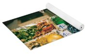 Christkindlmarkt Vienna Ornaments Yoga Mat