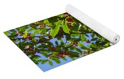 Christmas Berries Yoga Mat