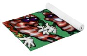 Christmas Candy Peppers Gang Yoga Mat