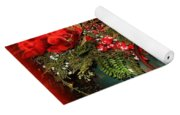 Christmas Lamps Yoga Mat
