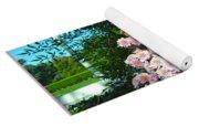 Chrysanths Yoga Mat