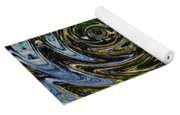Circles And Swirls Yoga Mat