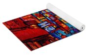 City After The Rain Yoga Mat