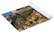 City On A Hillside Yoga Mat
