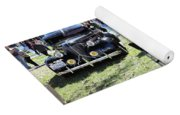 Classic Cars Day Of The Dead II Yoga Mat