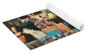 Classic Rock Lp Collage 1 Yoga Mat