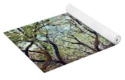 Claude Monet Orchard In Bloom Yoga Mat