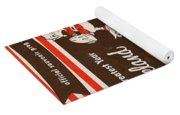 Cleveland Browns Vintage Program 5 Yoga Mat