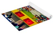 Clown Car Racing Game Yoga Mat