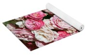 Cluster Of Roses  Yoga Mat