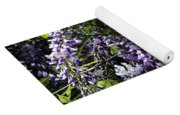 Clusters Of Wisteria Yoga Mat