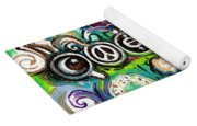 Coexisting With Coffee And Donuts Yoga Mat
