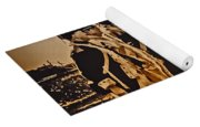 Colonial Soldiers On Parade Yoga Mat