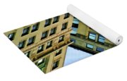 Color Buildings Architecture New York  Yoga Mat